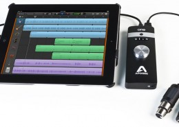Apogee ONE Records with iPad and GarageBand