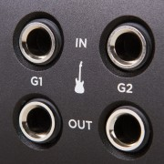 Ensemble Thunderbolt Close Up Guitar Inputs